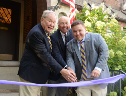 Zeta Delta Dedicates New W. David Romoser Lodge